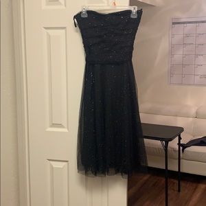 Black tulle sparkly dress